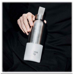 Drink Big | Bicolor White | Bouteille Isotherme